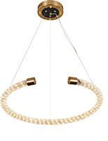 abordables -ZHISHU Circulaire Lampe suspendue Lumière d'ambiance Plaqué Métal Design nouveau 110-120V / 220-240V Blanc chaud + blanc