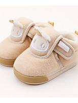 Недорогие -Мальчики / Девочки Обувь Хлопок Наступила зима Удобная обувь / Обувь для малышей Кеды для Дети (1-4 лет) Розовый / Светло-синий / Миндальный