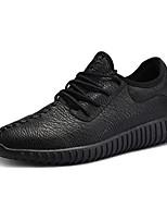 Недорогие -Муж. Комфортная обувь Полиуретан Осень На каждый день Кеды Белый / Черный / Красный