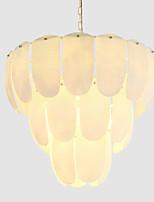 Недорогие -QIHengZhaoMing 9-Light Люстры и лампы Рассеянное освещение Электропокрытие Металл Стекло 110-120Вольт / 220-240Вольт Теплый белый