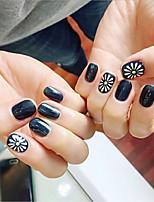 baratos -24 pcs Rhinestones geométricos Multifunção / Melhor qualidade Criativo arte de unha Manicure e pedicure Diário Na moda / Fashion