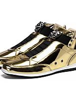 Недорогие -Муж. Комфортная обувь Полиуретан Весна На каждый день Кеды Доказательство износа Золотой / Черный / Серебряный