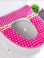 Недорогие -Сиденье для унитаза Влажная чистка / Съемная Modern Полиэстер 1шт Украшение ванной комнаты