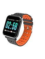 baratos -wearpai A6 Pulseira inteligente Android iOS Bluetooth WIFI Smart Esportivo Impermeável Monitor de Batimento Cardíaco Medição de Pressão Sanguínea Cronómetro Podômetro Aviso de Chamada Monitor de