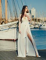 Недорогие -Жен. Белый Юбки Накидка Купальники - Однотонный Кружева Один размер