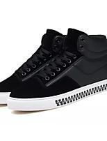Недорогие -Муж. Комфортная обувь Полиуретан Зима На каждый день Кеды Нескользкий Черный / Серый / Красный