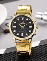 Недорогие -Жен. Нарядные часы Наручные часы Кварцевый Золотистый Повседневные часы Аналоговый Винтаж Мода - Золотой Белый Черный