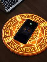 abordables -magic array magic circle chargeur de téléphone sans fil 5v / 1a pour iphone xs max / xr / xs / x / 8/8 plus, pixel 3 / 3xl, samsung galaxy note 9 / s9 / s9 plus et plus