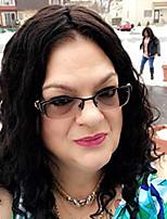Недорогие -Парики из искусственных волос / Синтетические кружевные передние парики / Маскарадные парики Жен. Классика / Волнистые Светло-коричневый Стрижка каскад / Ассиметричная стрижка / Боковая часть