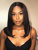 Недорогие -короткие боб парики с детскими волосами бразильские реми волосы предварительно сорвал кружева перед парики человеческих волос для женщин