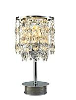 Недорогие -Современный современный Декоративная Настольная лампа Назначение Спальня Хрусталь 220-240Вольт