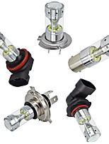 Недорогие -OTOLAMPARA 2pcs 3156 / 3157 / BAY15D (1157) Автомобиль Лампы 60 W Высокомощный LED 3000 lm 12 Светодиодная лампа Налобный фонарь Назначение Toyota / Honda / Ford Civic / Focus / Polo Все года