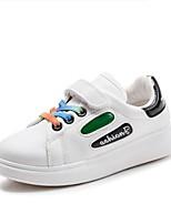 Недорогие -Мальчики / Девочки Обувь Полиуретан Осень Удобная обувь Кеды для Дети (1-4 лет) Черный / Зеленый / Розовый