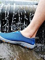 Недорогие -Муж. Комфортная обувь Сетка Весна & осень Мокасины и Свитер Серый / Синий / Хаки