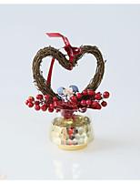 baratos -Decorações Corda de cânhamo / Flôr Seca Decorações do casamento Natal / Casamento Tema Jardim / Casamento Todas as Estações