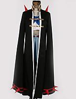 baratos -Inspirado por KILL la KILL Mako Mankanshoku Anime Fantasias de Cosplay Ternos de Cosplay Design Especial Blusa / Saia / Capa Para Homens / Mulheres