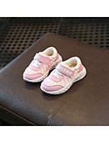 Недорогие -Мальчики / Девочки Обувь Сетка Весна & осень Удобная обувь / Обувь для малышей Спортивная обувь Беговая обувь для Дети Белый / Розовый