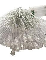Недорогие -3M Гирлянды 10 светодиоды Тёплый белый Для вечеринок 220-240 V 1 комплект