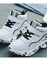 Недорогие -Мальчики / Девочки Обувь Кожа Зима Удобная обувь Спортивная обувь Беговая обувь для Для подростков Белый / Черный / Красный