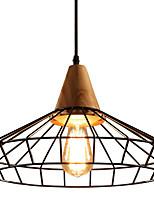 baratos -Lanterna / Industrial Luzes Pingente Luz Ambiente Madeira Madeira / Bambu Novo Design 110-120V / 220-240V