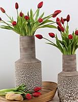 Недорогие -Искусственные Цветы 12 Филиал Классический Modern Тюльпаны Букеты на стол