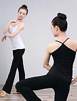 abordables -Danse classique Hauts Femme Entraînement / Utilisation Elasthanne / Lycra Croisé Sans Manches Haut