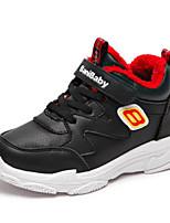 Недорогие -Мальчики / Девочки Обувь Искусственная кожа Зима Удобная обувь Спортивная обувь Беговая обувь для Для подростков Белый / Черный / Розовый