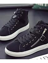 Недорогие -Муж. Комфортная обувь Полиуретан Наступила зима Кеды Черный / Серый / Хаки