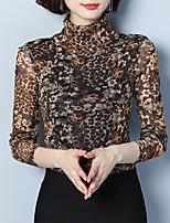 Недорогие -женская блузка больших размеров - однотонная подставка