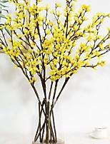 Недорогие -Искусственные Цветы 24 Филиал Классический Современный современный Вечные цветы Букеты на пол