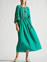 Недорогие -Жен. Зеленый Юбки Накидка Купальники - Однотонный Один размер