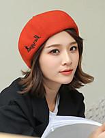 Недорогие -Жен. Активный / Классический Берет / Широкополая шляпа / Кепка-восьмиклинка С принтом