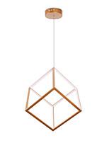Недорогие -геометрический / Оригинальные Люстры и лампы Рассеянное освещение Окрашенные отделки Алюминий Регулируется, Новый дизайн, Cool 110-120Вольт / 220-240Вольт