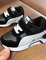 Недорогие -Девочки Обувь Синтетика Наступила зима Удобная обувь Спортивная обувь Для прогулок На липучках для Дети Белый / Черный / Розовый