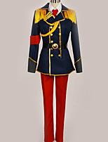 baratos -Inspirado por Fantasias Fantasias Anime Fantasias de Cosplay Ternos de Cosplay Contemporâneo Casaco / Blusa / Calças Para Homens / Mulheres