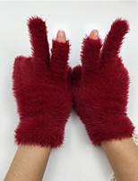 Недорогие -перчатки для женщин / мужские наручные пальцы - сплошной цвет