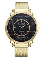 Недорогие -Жен. Нарядные часы Наручные часы Кварцевый Золотистый Новый дизайн Повседневные часы Аналоговый На каждый день Мода - Золотой Один год Срок службы батареи