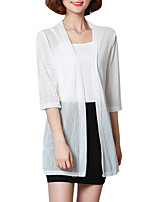 Недорогие -женская блузка больших размеров - однотонный глубокий v