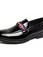 Недорогие -Муж. Комфортная обувь Полиуретан Весна На каждый день Мокасины и Свитер Дышащий Черный