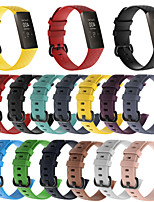 cheap -Watch Band for Fitbit Charge 3 Fitbit Sport Band Silicone Wrist Strap