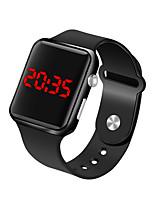 Недорогие -Муж. Наручные часы Цифровой Черный 30 m Защита от влаги ЖК экран Цифровой Мода минималист - Пурпурный Синий Розовое золото