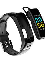 Недорогие -Kimlink J16 Умный браслет Android iOS Пульсомер Измерение кровяного давления Израсходовано калорий Хендс-фри звонки Регистрация дистанции