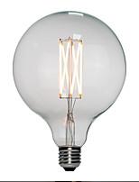 Недорогие -6шт 6 W 120 lm E26 / E27 LED лампы накаливания G125 6 Светодиодные бусины Высокомощный LED Тёплый белый 110-130 V / 200-240 V