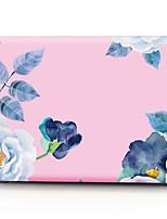 """Недорогие -MacBook Кейс Цветы ПВХ для MacBook Pro, 13 дюймов / MacBook Air, 11 дюймов / New MacBook Air 13"""" 2018"""