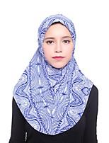 baratos -Mulheres Vintage Hijab - Em Cruz Sólido
