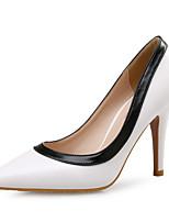 Недорогие -Жен. Синтетика Весна лето Обувь на каблуках На шпильке Заостренный носок Белый / Миндальный / Для вечеринки / ужина