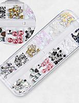 billiga -1 pcs Nagelsmycken Paljetter Universell / Originella Klassisker Tema Kreativ nagel konst manikyr Pedikyr Dagligen / Festival Koreanska / Mode
