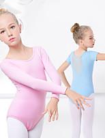 abordables -Danse classique justaucorps Fille Entraînement / Utilisation Elasthanne / Lycra Combinaison Manches Longues Collant / Combinaison