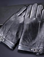 Недорогие -Полныйпалец Муж. Мотоцикл перчатки Кожа Сенсорный экран / Сохраняет тепло / Износостойкий