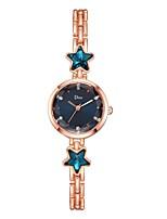 Недорогие -Жен. Нарядные часы Наручные часы Кварцевый Серебристый металл / Розовое золото Новый дизайн Повседневные часы Имитация Алмазный Аналоговый Мода Элегантный стиль -  / Один год / Один год